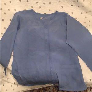 Wonder wink Ceil blue lab jacket large